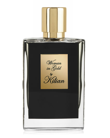 Kilian Woman In Gold 50 mL Refillable Spray and its Coffret