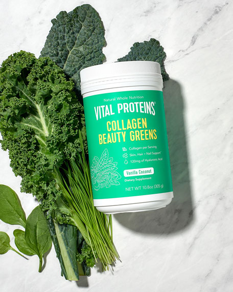 Collagen Beauty Greens, 10.6 oz./ 313 mL