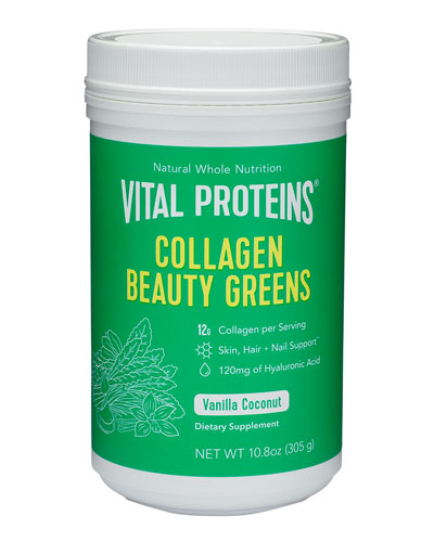 Collagen Beauty Greens, 10.6 oz./ 313 mL