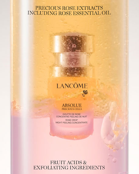 Image 3 of 3: Lancome 0.5 oz. Absolue Precious Cells Rose Drop Night Skin Peel Concentrate