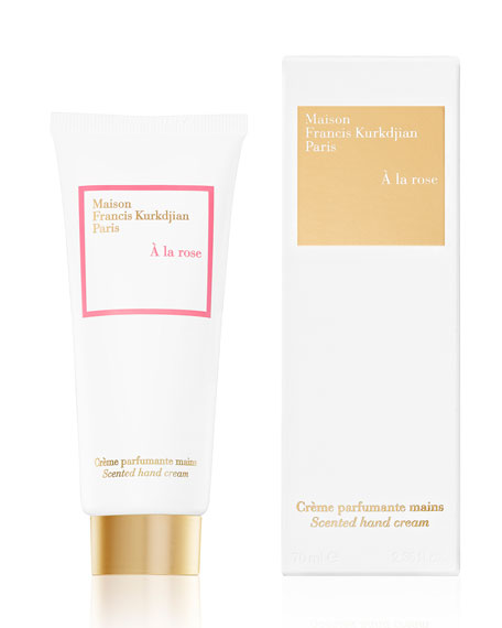 Maison Francis Kurkdjian À la Rose Scented Hand Cream, 2.36 oz./ 70 mL