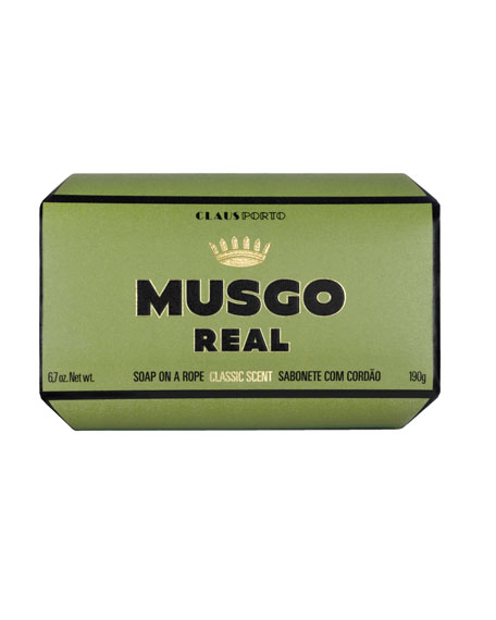 Musgo Real Classic Scent Soap on a Rope, 6.7 oz.