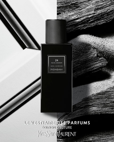 Yves Saint Laurent Beaute Exclusive LE VESTIAIRE DES PARFUMS Edition Couture 24 rue de l'Universite Eau de Parfum