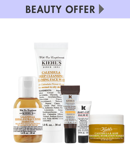 Yours with any $95 Kiehl's Purchase