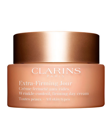 Clarins Extra-Firming Wrinkle Control Firming Day Cream - All Skin Types, 1.7 oz./ 50 mL
