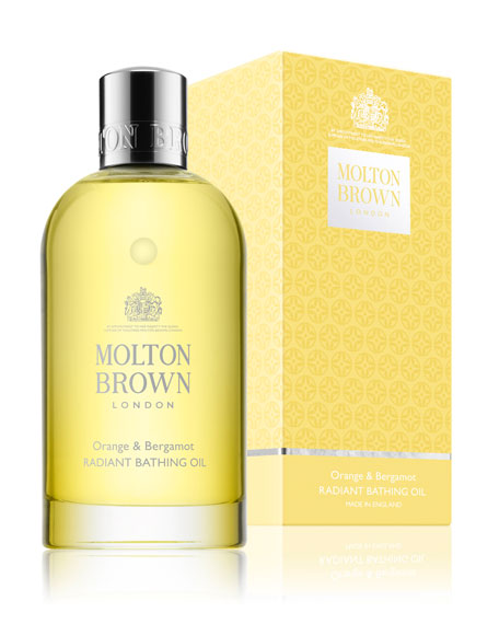 Molton Brown Orange & Bergamot Radiant Bathing Oil, 6.6 oz./ 195 mL
