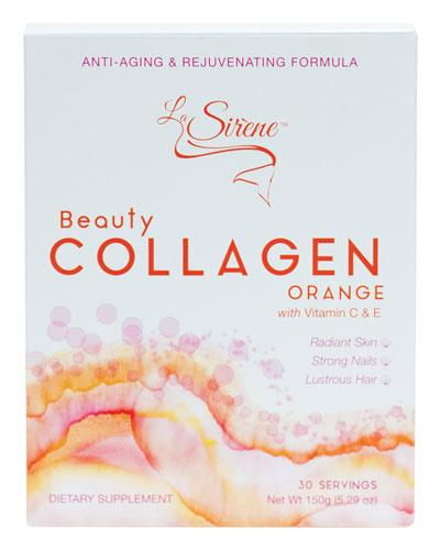 Orange Beauty Collagen(Marine)  Powder Supplement (30 Servings)