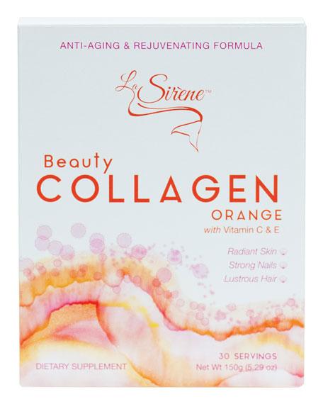 Orange Beauty Collagen(Marine), Powder Supplement (30 Servings)