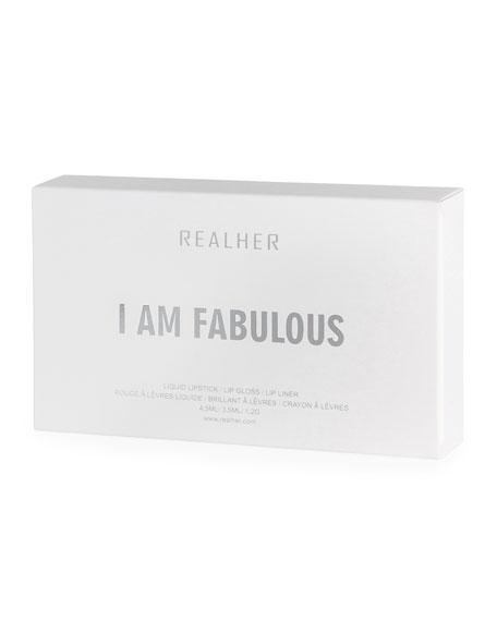 RealHer I Am Fabulous Lip Kit