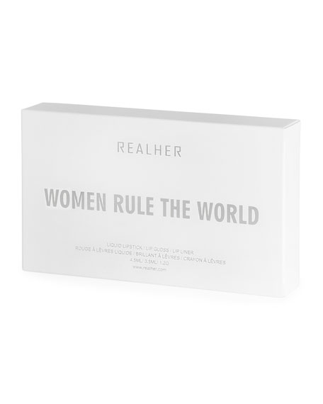 RealHer Women Rule the World Lip Kit