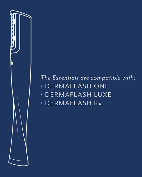 DermaFlash The Essentials Dermaplaning Exfoliation Replenishment Kit