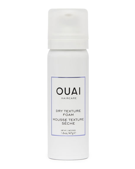 OUAI Haircare Dry Texture Foam, Travel Size
