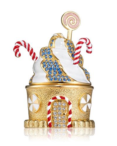 Modern Muse Gingerbread CottagePerfume Compact by Monica Rich Kosann