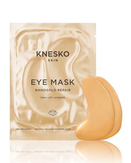 Knesko Skin Nano Gold Repair Collagen Eye Masks (1 Treatment)