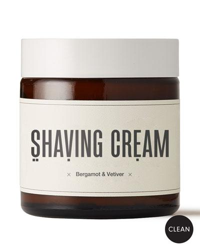 Shaving Cream - Bergamot & Vetiver