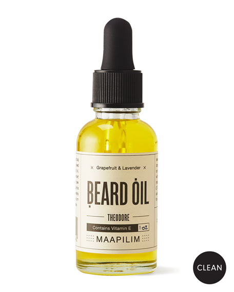 Maapilim Beard Oil - Grapefruit & Lavender, 1.0 oz./ 30 mL