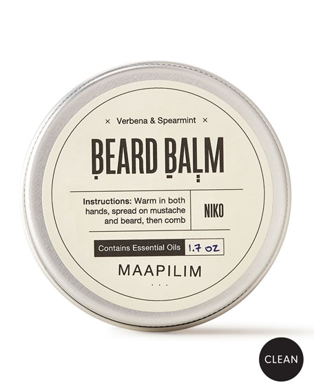 Maapilim Beard Balm - Verbena & Spearmint, 1.7 oz./ 50 mL