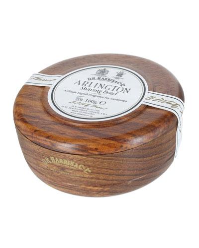 Arlington Shaving soap in Mahogany Bowl