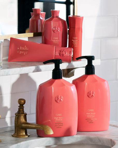 Oribe Bright Blonde Conditioner for Beautiful Color, 33 oz./ 1 L