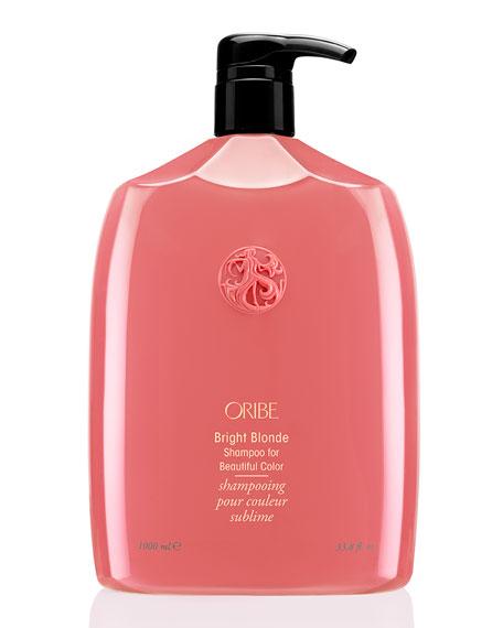 Oribe Bright Blonde Shampoo for Beautiful Color, 33 oz./ 1 L