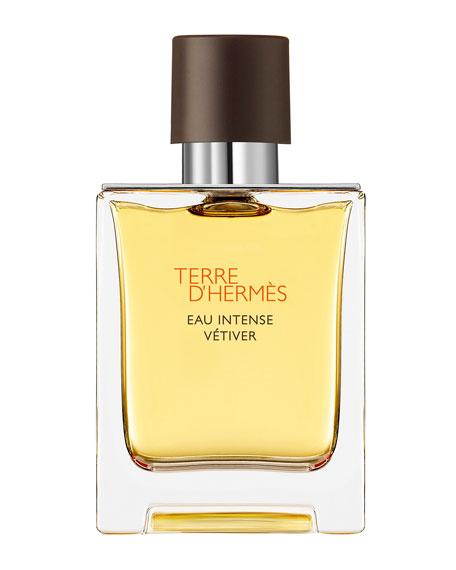 Hermes TERRE D'HERM & #232S EAU INTENSE V & #233TIVER EAU DE PARFUM, 1.7 OZ./ 50 ML