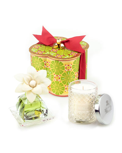 Lime & Orange PetiteEssence & Candle Exclusive Gift Set