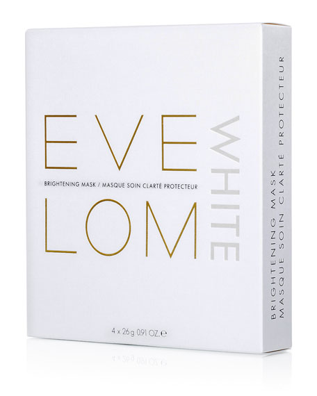 Eve Lom White Brightening Face Mask, 4 Count