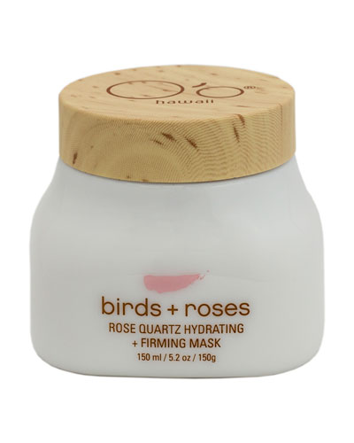 Birds+Roses Rose Quartz Hydrating+Firming Mask  150 g