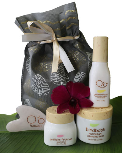 NM Exclusive Express Hawaiian Crystal Facial Set