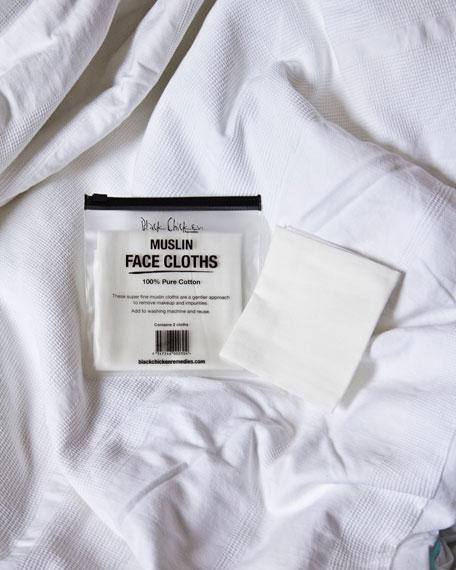 Black Chicken Remedies Muslin Face Cloth 2 Pack