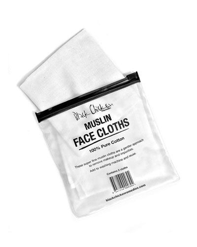 Muslin Face Cloth 2 Pack