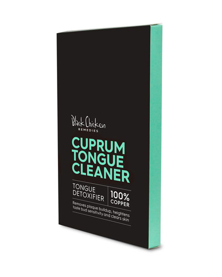 Black Chicken Remedies Cuprum Tongue Cleaner - Copper Tongue Cleaner, 1 Pack