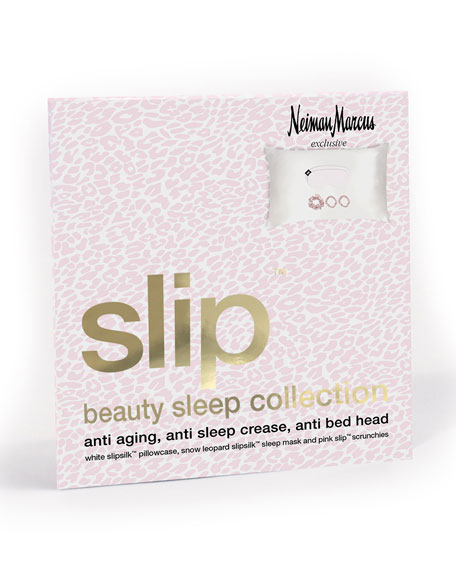 NM Exclusive Slip Beauty Sleep Collection Gift Set