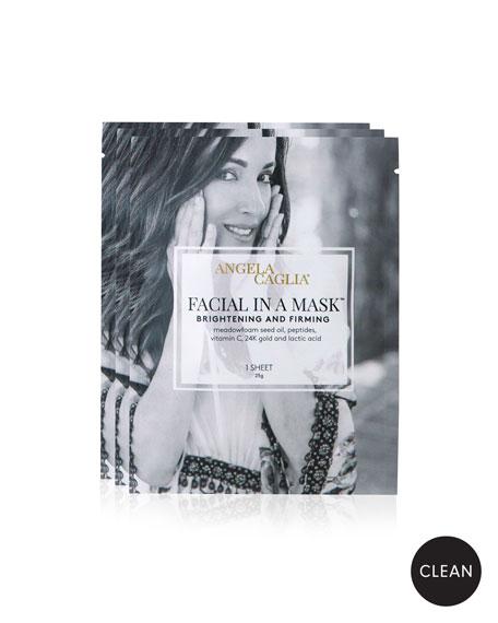 Angela Caglia Skincare Facial in a Mask, 3 Sheets