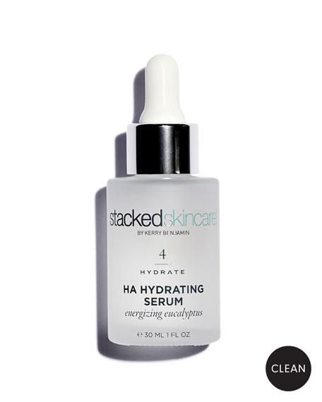 StackedSkincare HA Hydrating Eucalyptus Serum, 1.0 oz./ 30 mL