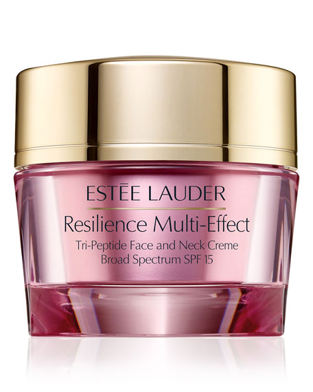 Estee Lauder Resilience Multi-Effect Tripeptide Face and Neck Creme SPF 15, 2.5 oz./ 75 mL