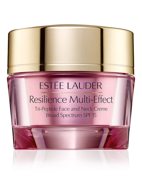 Estee Lauder Resilience Multi-Effect Tripeptide Face and Neck Creme SPF 15, For Dry Skin, 1.7 oz./ 50 mL