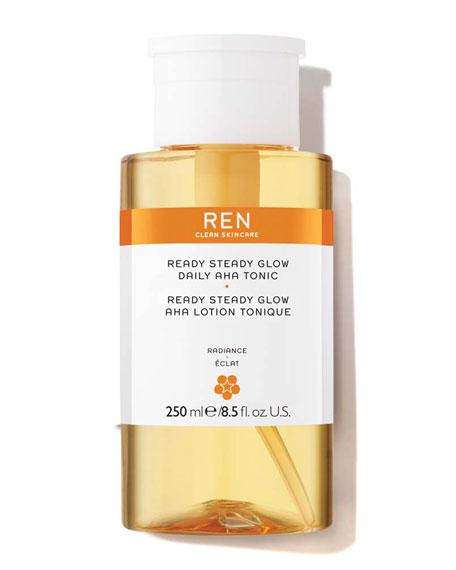 Ren READY STEADY GLOW DAILY AHA TONIC, 8.4 OZ./ 250 ML
