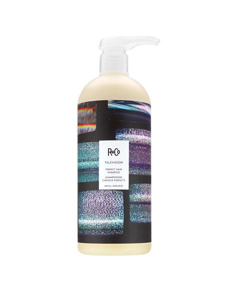 R+Co TELEVISION Perfect Shampoo, 34 oz./ 1 L