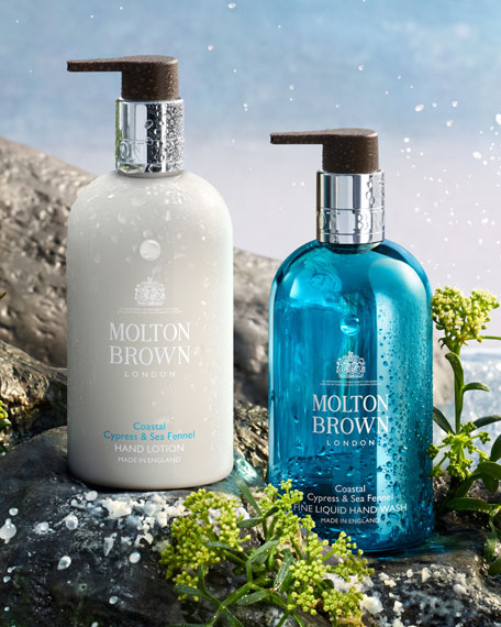 Molton Brown Coastal Cypress & Sea Fennel Hand Lotion 10 oz./ 300 mL