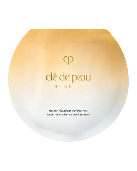 Cle de Peau Beaute Vitality Enhancing Eye Mask Supreme, 6 Sheets
