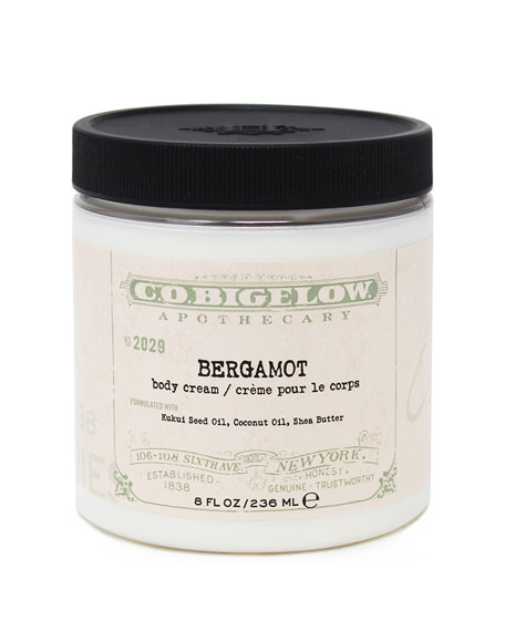 C.O. Bigelow Bergamot Body Cream, 8 oz./ 236 mL