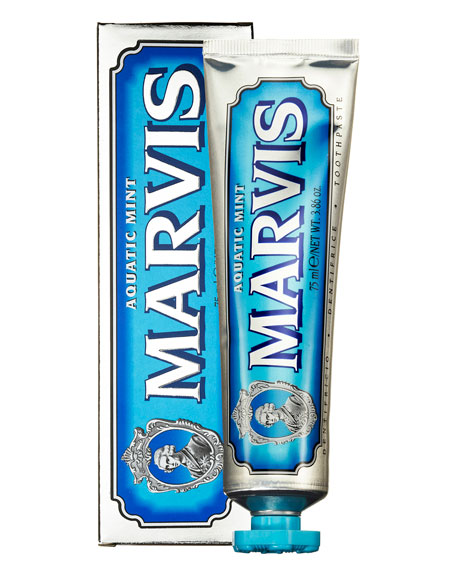 Marvis Aquatic Mint Toothpaste, 3.8 oz./ 75 mL