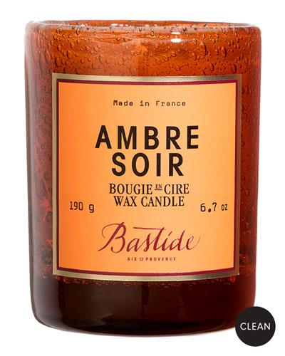 Ambre Soir Wax Candle  6.7 oz./190 g