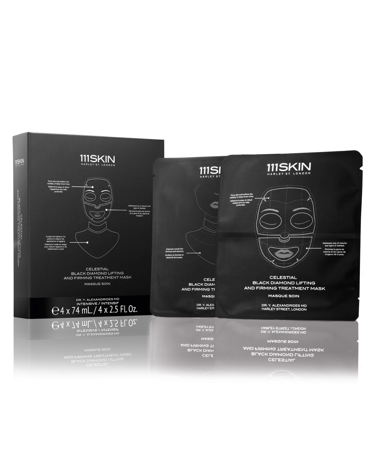 111SKIN Celestial Black Diamond Lifting and Firming Mask