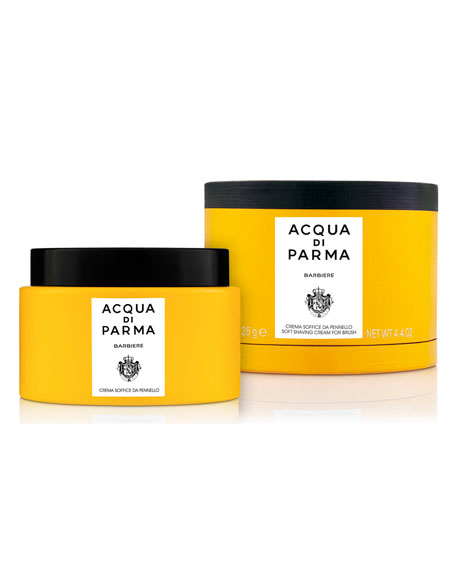 Acqua di Parma Barbiere Soft Shaving Cream For Brush, 4.4 oz./ 125 g
