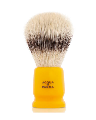 Barbiere Yellow Travel Shaving Brush