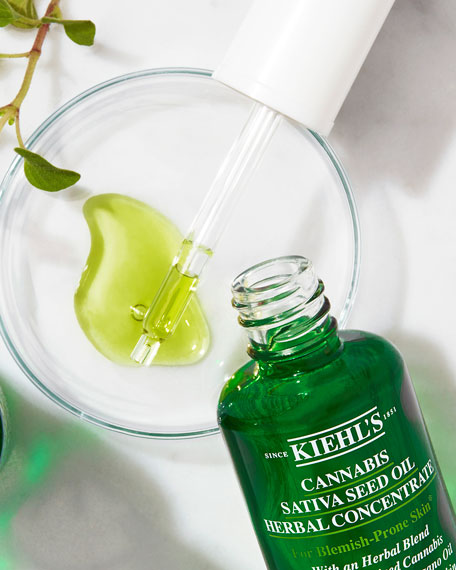 Image 3 of 5: Kiehl's Since 1851 1 oz. Cannabis Sativa Seed Oil Herbal Concentrate