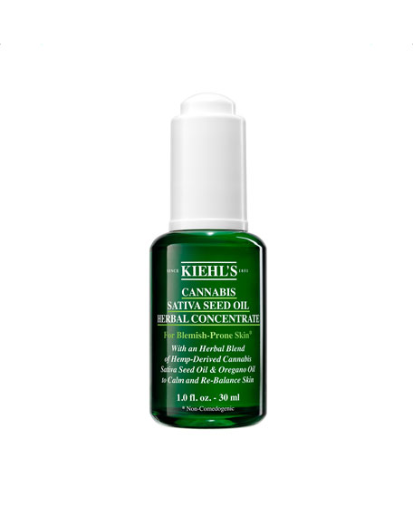 Image 1 of 5: Kiehl's Since 1851 1 oz. Cannabis Sativa Seed Oil Herbal Concentrate
