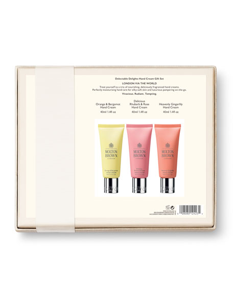 Molton Brown Delectable Delights Hand Cream Gift Set, 3 x 1.4 oz./ 40 mL